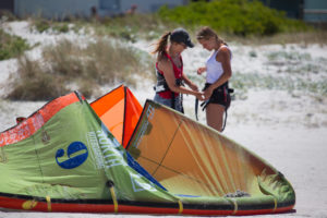 beginner kiting surfing lessons